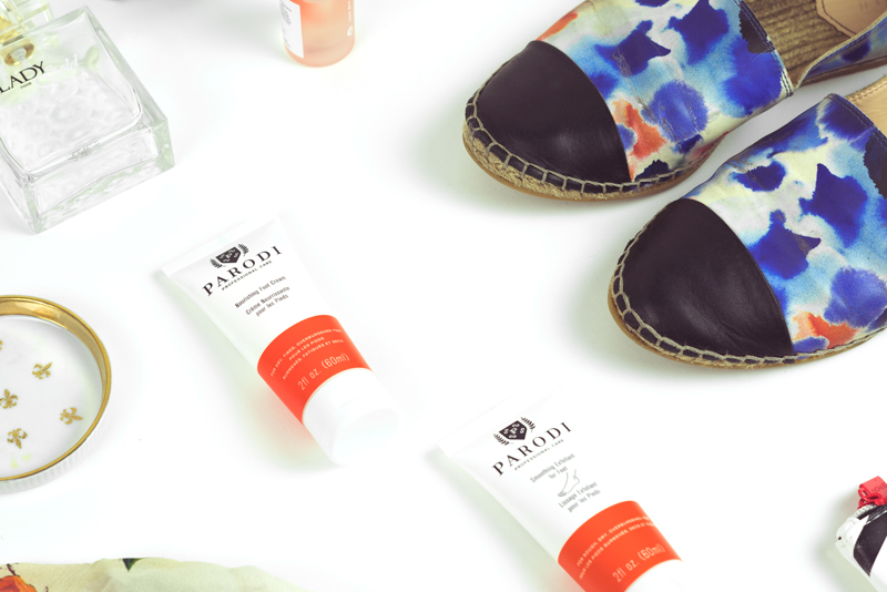 YOU'VE GOT TO TRY TO BELIEVE: PARODI SMOOTHING EXFOLIANT FOR FEET AND NOURISHING FOOT CREAM